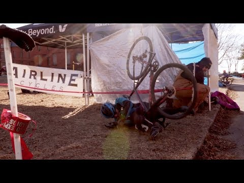 Cyclocross at an INSANE Asylum: Ice Weasels 2018