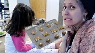 HOW TO BAKE COOKIES THAT NO ONE WILL EAT!