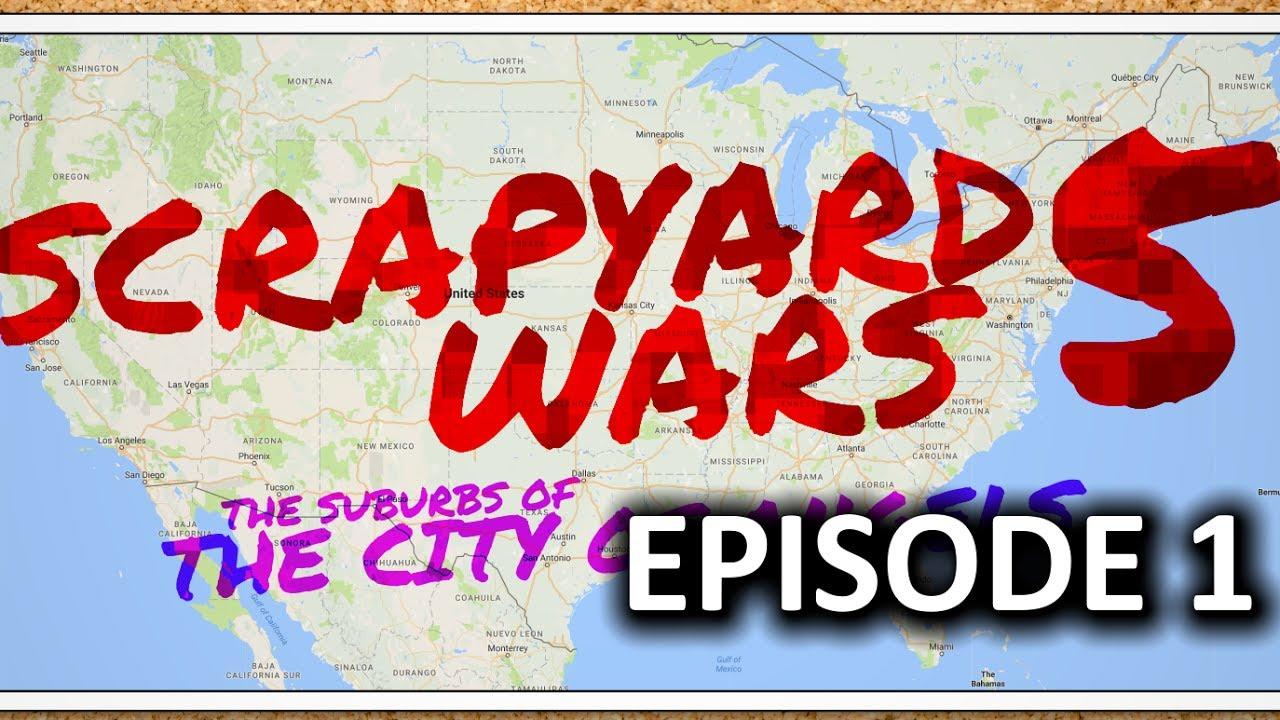 $500 PC TEAM BATTLE - Scrapyard Wars Season 5 - Ep1