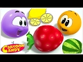 Learn And Play With Colorful Fruits WonderBalls Cartoons For Children Cartoon Candy