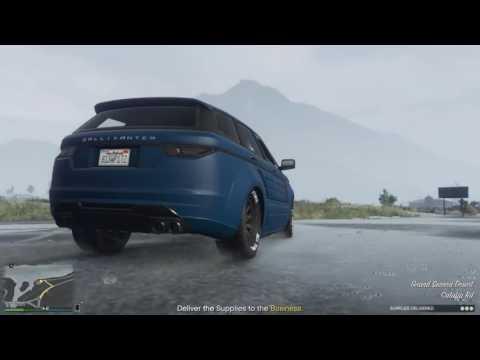 GTA - Rugs getaway skills!!