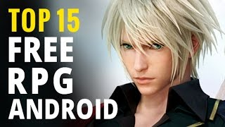 Top 15 Best FREE Android RPGs | Android Role-playing games