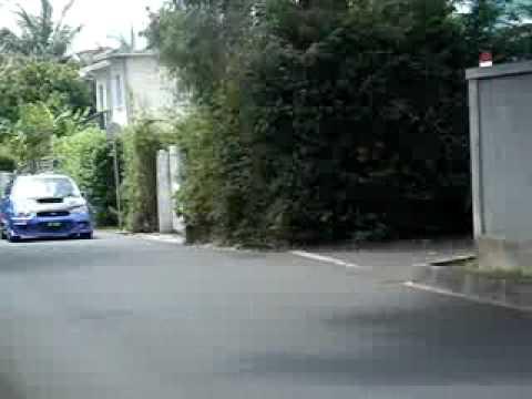 Subaru Impreza turbo (sound blow off)