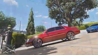 GTA V - How To Make Wheels and Rims Bigger
