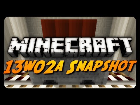 Minecraft Snapshots - 13w02a - Minecart w/ TNT, Renamed Mobs, Quartz Blocks & More!