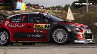 Day 2 - Top moment - 2017 WRC Rally de España - Michelin Motorsport