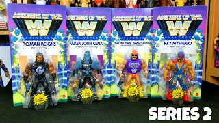 Masters Of The WWE Universe Series 2 Action Figures