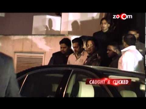 Salman Khan apparently lost his cool at a party