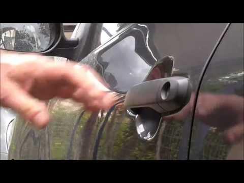 2008 Toyota Corolla How to replace outside car door handle Αντικατάσταση χερουλιού πόρτας οδηγού