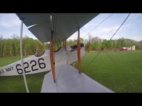 100-year-old plane takes flight