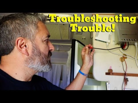 Van Life; Troubleshooting Trouble! The Lance Camper Solar Project! Part 4