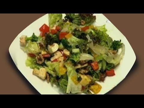 Exotic Salad In Balsamic Dressing - Sanjeev Kapoor - Khana Khazana