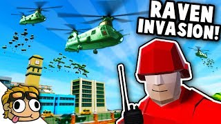 150+ TRANSPORT HELICOPTER INVASION! | Ravenfield Best Mods Gameplay