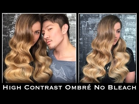 High Contrast Ombré No Bleach