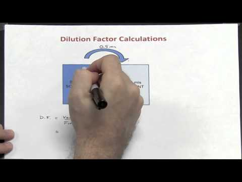 Dilutions - Part 1 of 4 (Dilution Factor)