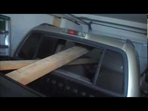 Wood Engine Test Stand Part 1a (LS1 Engine Mount)