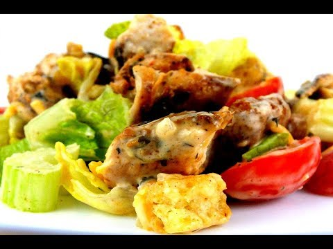How to Make Grilled Chicken Caesar Salad: Easy Salad Recipe