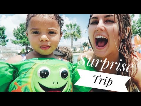 Making BLUEBERRY YUM YUM/ Surprise Trip! | Paige Danielle
