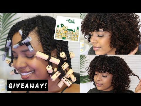 Twist and Curl On Natural Hair + GIVEAWAY (CLOSED)