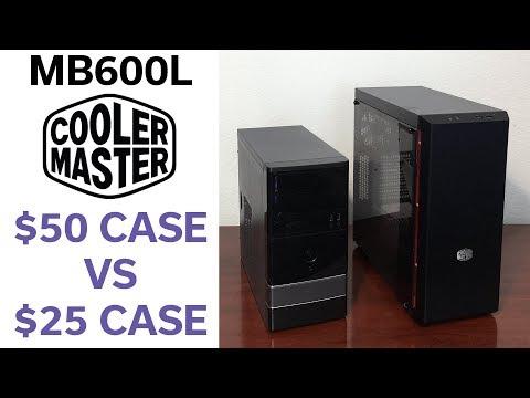 $50 Case vs $25 Case - Cooler Master MB600L - Review