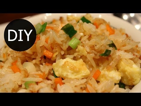 How to make Chinese Fried Rice Recipe (炒饭)