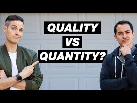 Quality vs Quantity on YouTube? - 3 Tips