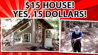 $15 earth berm house filmed 30 years later - a mike oehler structure - not a type, FIFTEEN dollars