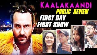 Kaalakaandi Public Review | First Day First Show | Honest Reaction |Saif Ali Khan