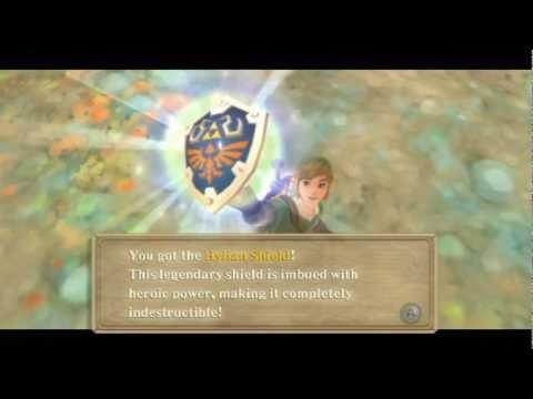 The Legend of Zelda : Skyward Sword - Getting the Hylian Shield, Ghirahim is still a troll