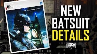 BATMAN 2021 UPATES: New Batsuit Details, Hidden Logo Meaning, Cars, Potential Catsuit Release & More