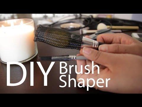 DIY Brush Shaper or Brush Guard | Makeup Mayhem #15