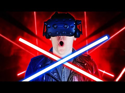 EXPERT DIFFICULTY! - Beat Saber Gameplay - VR HTC Vive Pro