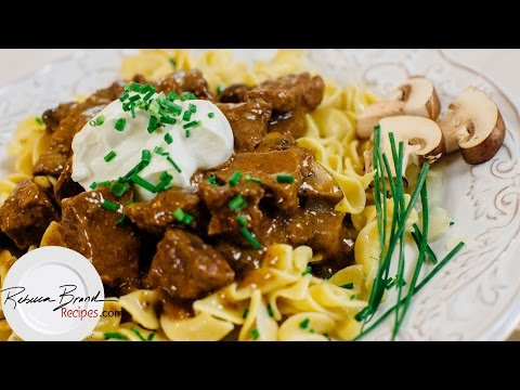How to Make Beef Stroganoff Best Recipe