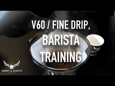 Barista Training | How To Make Fine Filter Coffee