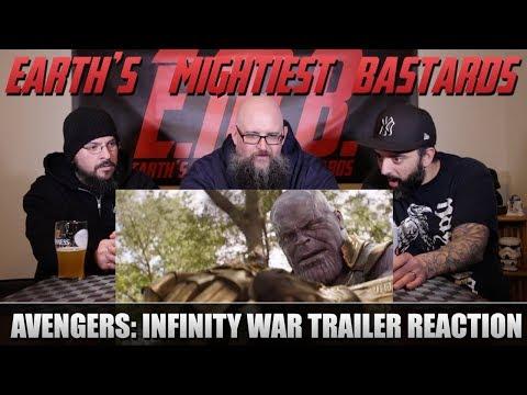 Trailer Reaction: Avengers: Infinity War