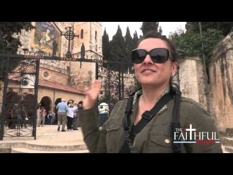 Church of the Visitation -- Holy Land Video