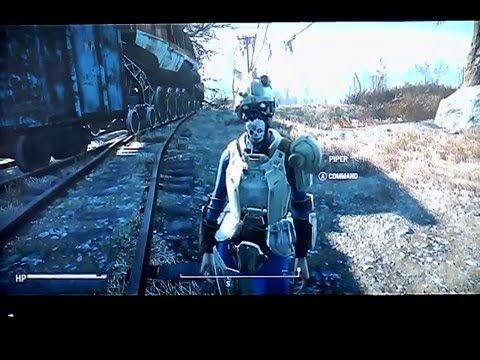 Fallout 4 Railway Rifle Location NOT in the Railroad Xbox one