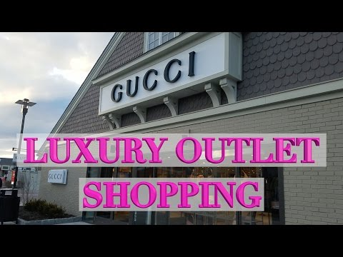 Luxury Outlet Shopping in NY - Dior, Gucci, YSL, Dolce Gabbana