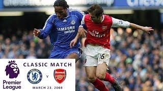 Chelsea v. Arsenal 07/08 I Arsenal pursues title, Chelsea defends 77 home match win streak