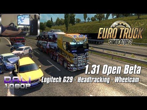 Euro Truck Simulator 2 v1.31 PC Gameplay (wheelcam)