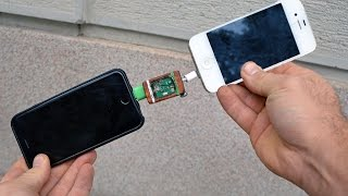 How to STEAL Friends Battery Energy - iPhone➟iPhone   TUTORIAL