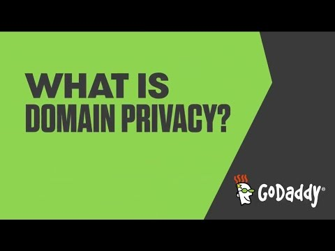What is Domain Privacy? | GoDaddy