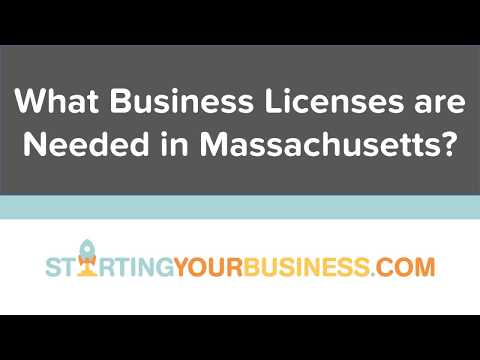 What Business Licenses are Needed in Massachusetts - Starting a Business in Massachusetts