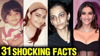 Sonam Kapoor 31 SHOCKING And UNKNOWN Facts | First Boyfriend, Debut Movie, Marriage