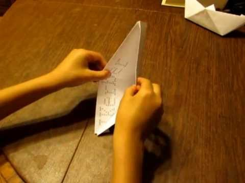 How to: Make a Paper Boat that Floats
