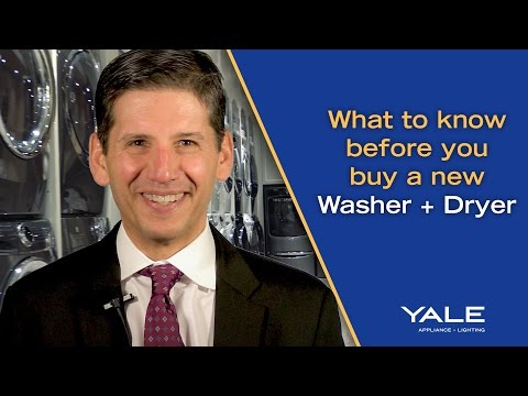 What to need to know when buying a new Washer/Dryer