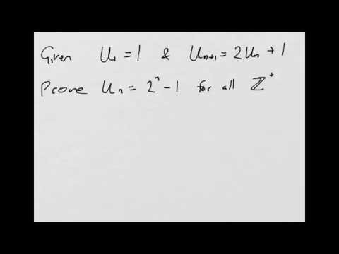 How to: Prove by Induction - Proof of a Recurrence Relationship