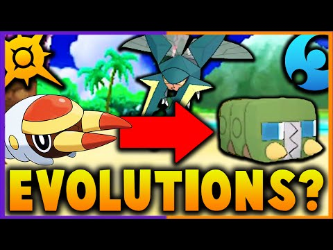 GRUBBIN EVOLVES into CHARJABUG!? NEW Pokemon Evolutions - Pokemon Sun and Moon Theory/Speculation!