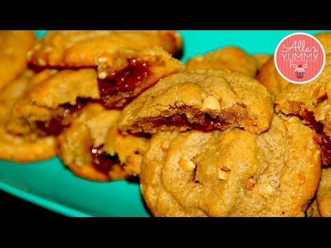 How to make Peanut Butter Cookies - Cookie Recipe - Печенье с арахисовым маслом