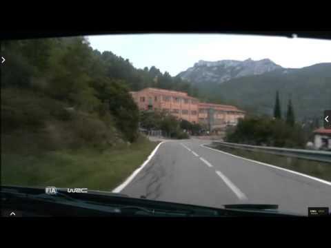 Onboard Kubica rally Catalunya-costa Daurada ss19 2015